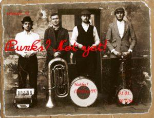 Di, 31.01., 20 Uhr: Hańba  – Tuba-Punk aus Krakow