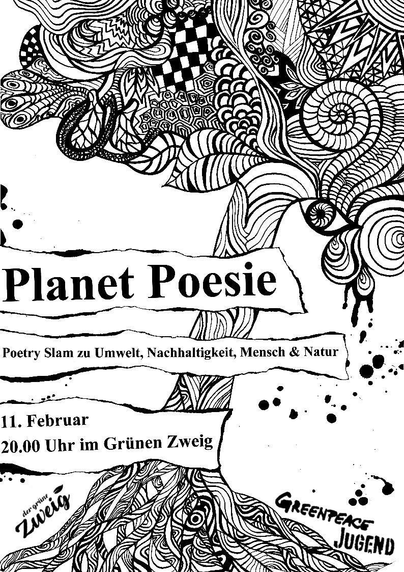 Planet Poesie 11.02.17  20:00Uhr
