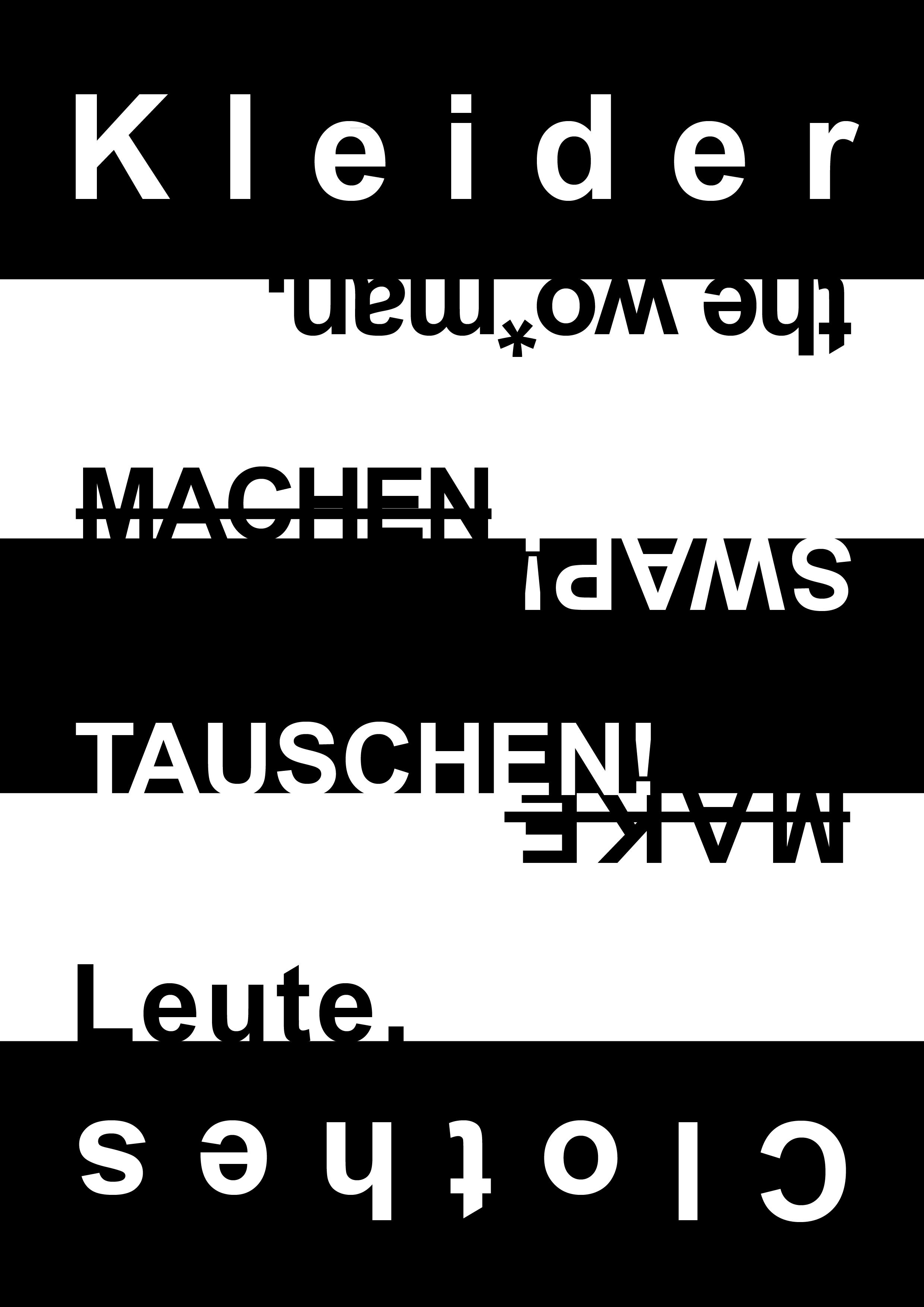 Kleidertausch Café 02.04.2017 14:00-18:00