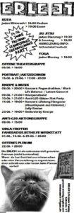 Programm für Juni