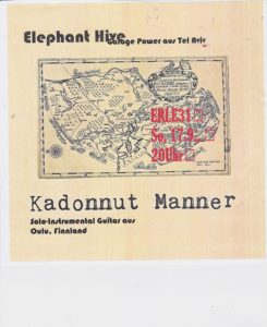 Konzert Kadonnut Manner / Elephant Hive