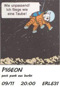 Konzert PIGEON (post punk)